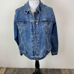 Torrid Medium Wash Jean Jacket Size 0X